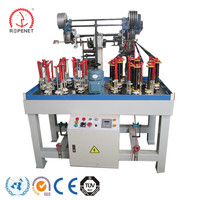 rope braiding top quality elastic and bungee cord knitting machines for sale