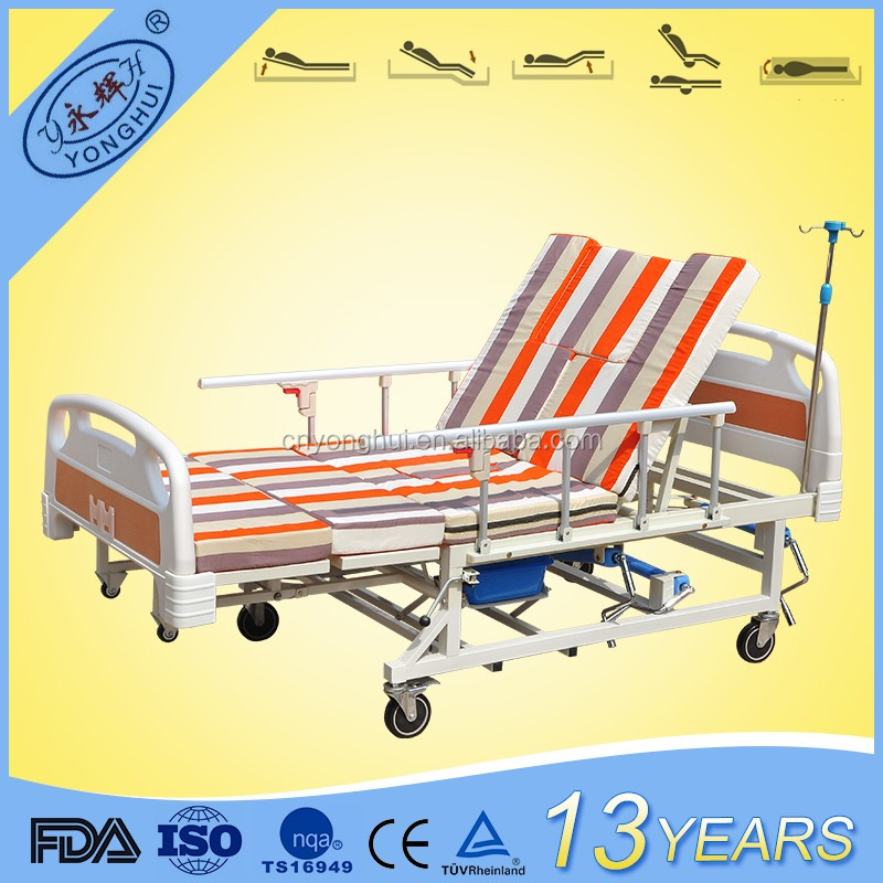 Jzyh-c07 Folding Beds Full Manual Nursing Bed Suppliers Made In ...