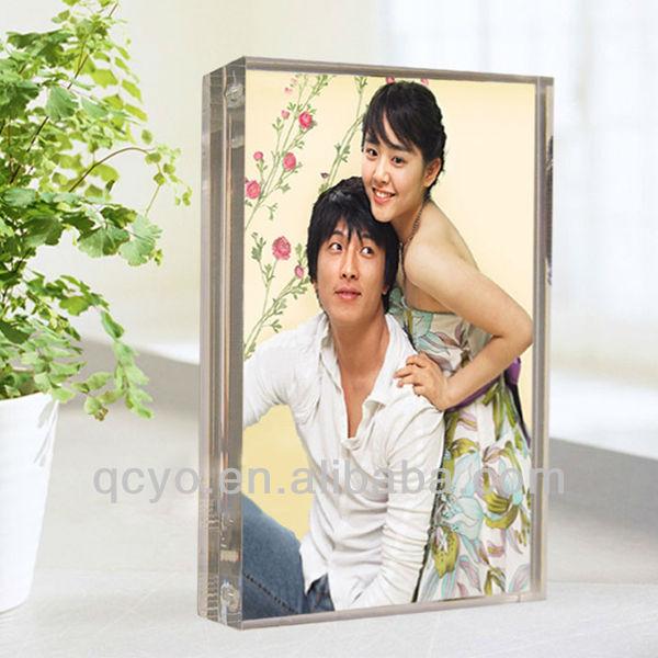 elegant customized acrylic photo frame