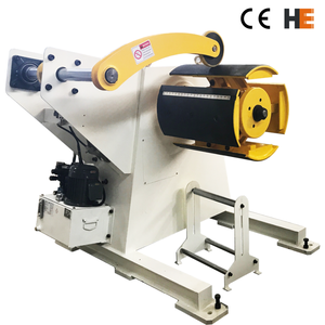 Coil Reel Decoiler Pressing Arm Motorzied Automatic Hydraulic Sheet Metal Coil Uncoiler Decoiler For Press Machine