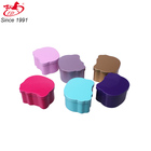 cat shaped metal skin care cream tin box for personal care