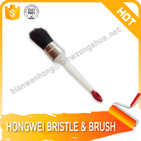 Wall refillable covers plastic handle paint brush