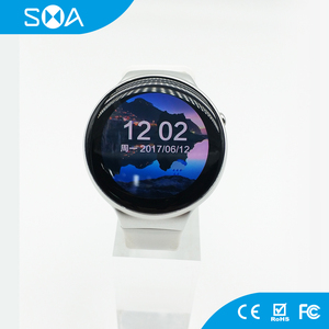 MTK 6580 1GB + 16GB ROM 400*400 AMOLED Android Smart Phone Watch Golf Gps  Watch