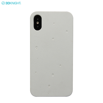High Quality Real White PC Natural Cement Phone Case For Iphone X XS XR XS MAX