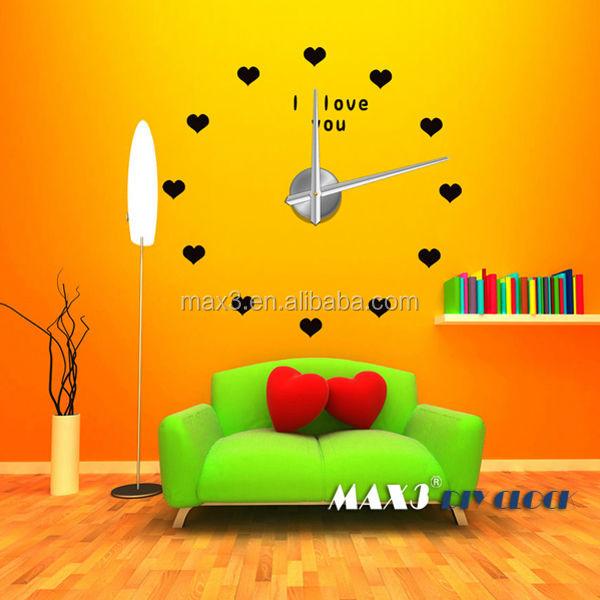 Heart Shaped Wall Clock Wholesale, Shape Wall Clock Suppliers - Alibaba
