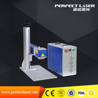 10w / 20W / 50w /100w Jewelry / Ring / Pipe / Hardware / Plastic Non-Metal and Metal Fiber Laser Marking Machines