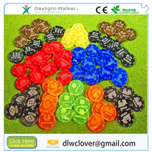 Skill Bullet color plastic Tokens