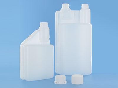 500ml 1l Pe Plastic Measuring Screw Cap Plastic Dispensing