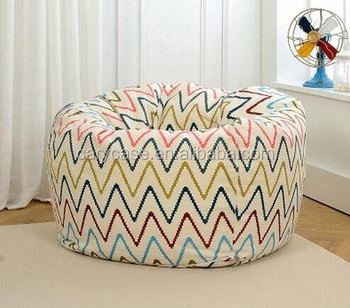 Astonishing Chevron Zigzag Round Bean Bag Recliner Sofa Bed Beach Sun Lounger Chairs Outdoor Waterproof Sofa Bean Bag Buy Sofa Bean Bag Lazy Lounger Bean Pdpeps Interior Chair Design Pdpepsorg