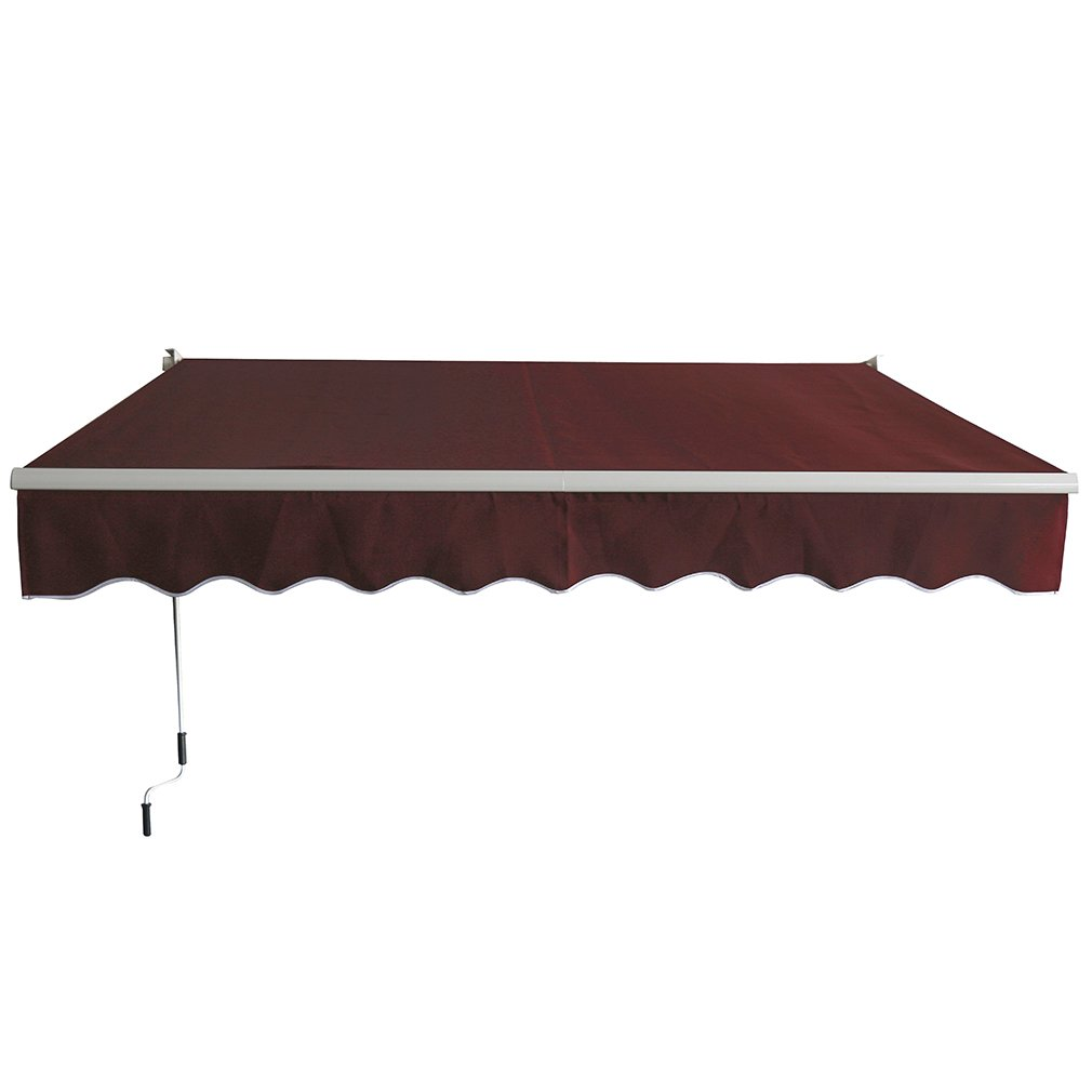 Get Quotations  C2 B7 Paylesshere Patio Manual Retractable Sun Shade Awning  Door Awnings