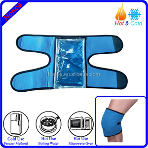 ice gel pack knee wrap hot cold therapy