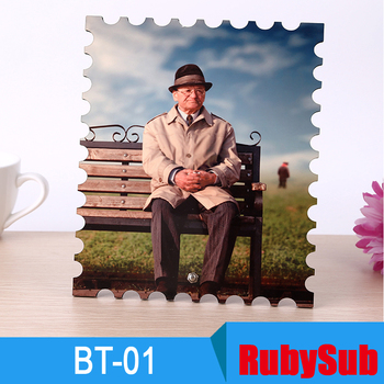 New arrival sublimation MDF photo frame, sublimation blank Square board BT-01