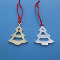 Merry Christmas tree Metal crafts new Ornament Gift Hangings pendant