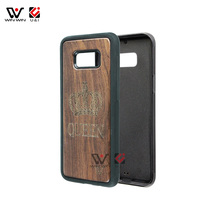 Best Selling Palissander Case voor Samsung Galaxy Note 8 Hout Mobiele Telefoon Cover Shell voor Samsung S8 Plus