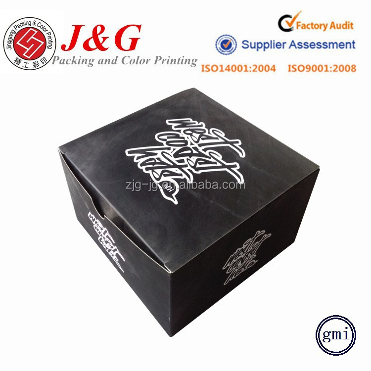 Custom t shirt paper packaging cardboard boxes black apparel corrugated boxes packaging