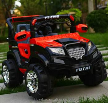 Baby Toys 2017 Plastic Jeep Car 2 Batteries 2 Motors Children
