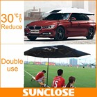 SUNCLOSE four car rear window roller shade portable car tent pop up tent