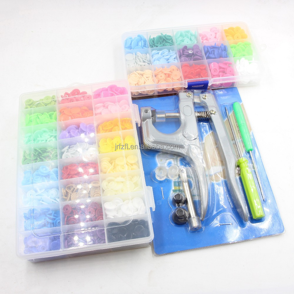 Metal Press Pliers Tools Colorful T3 T5 T8 Press Plastic Snap Buttons