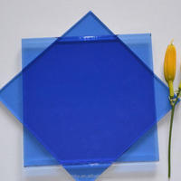 3~12mm Blue color float glass