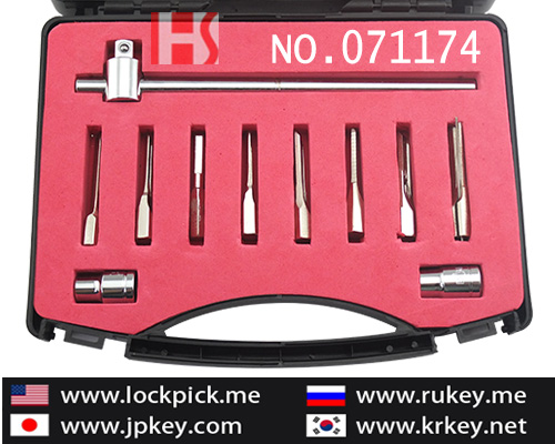 High quality Advanced electric pick gun lockpick tool 071068