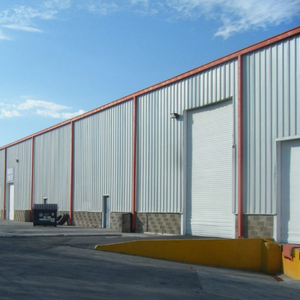 Prefabricated Used Multi-Storey Steel Structure Frame Warehouse/Workshop