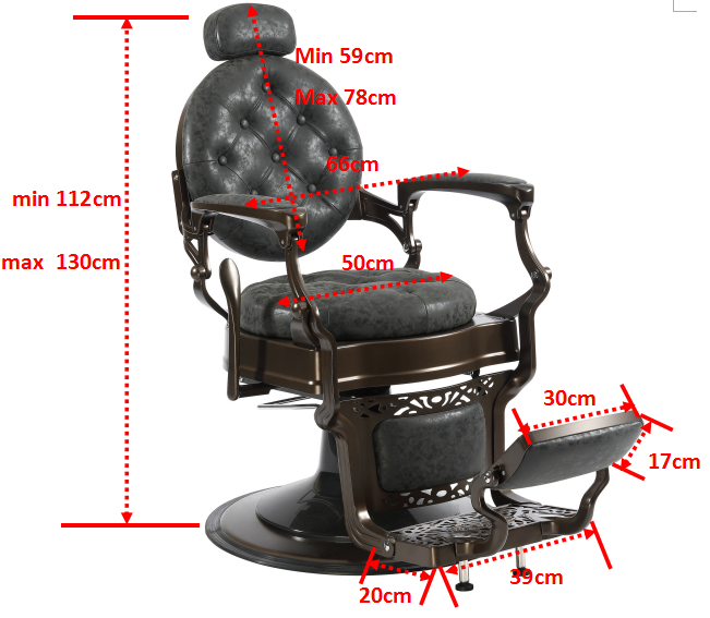 Royal Design Old Barber Chair With Factory Price