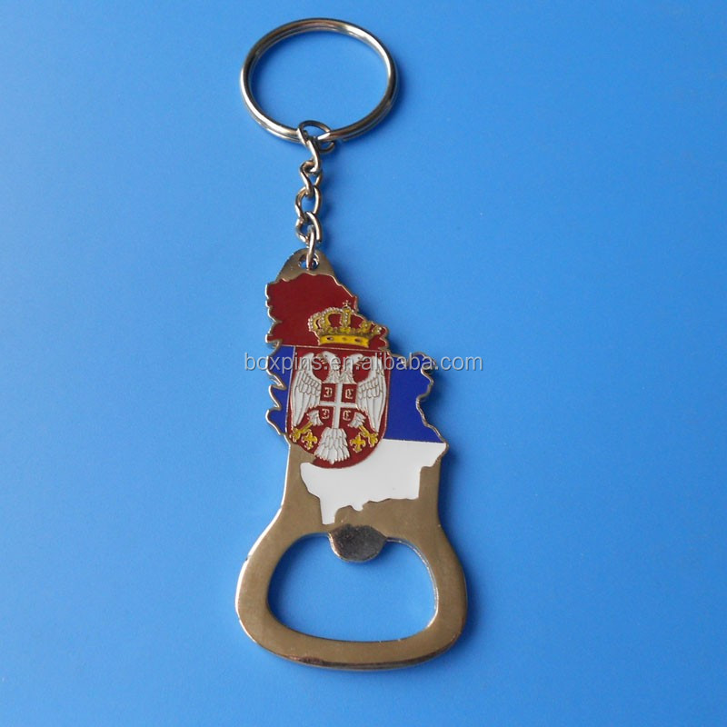 special design russia keychain, bottle opener keychain, customized keychain