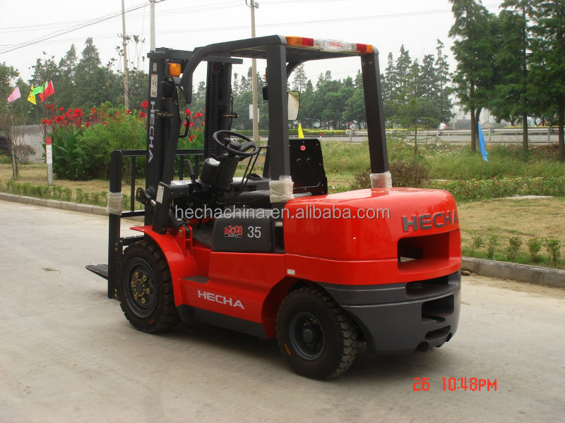 heli 3.5t fork lift diesel forklift price CPCD35 with EUIV Japan engine Mitsubishi S4S