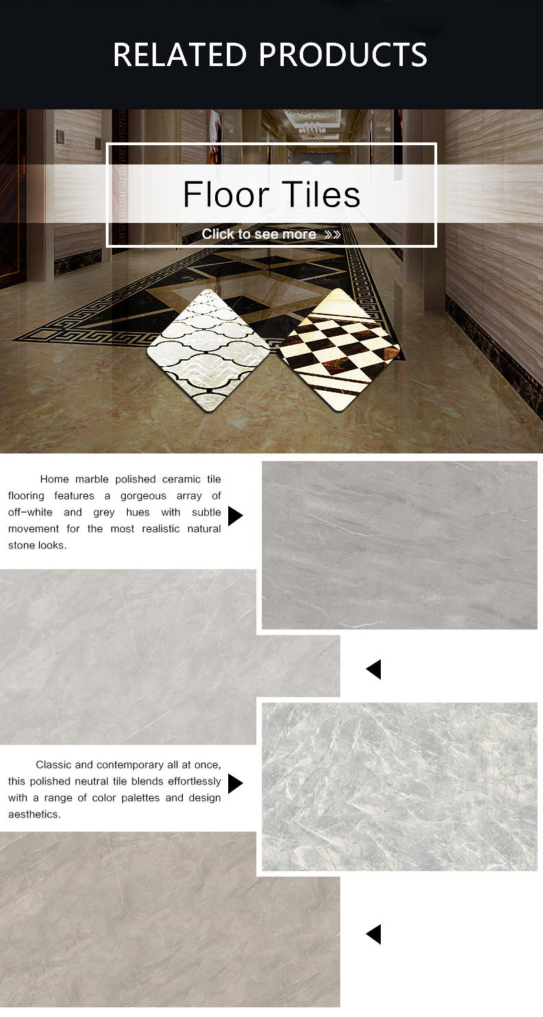 house full body polished porcelain tiles floor