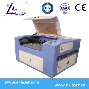 Hot sale co2 laser and Fiber 20W Raycus laser marking machine for metal plastic