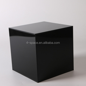 Black Acrylic Box Square Gift Box Plastic Storage Cubes For Packaging   Buy  Black Acrylic Box,Acrylic Gift Box,Plastic Storage Cubes Product On ...