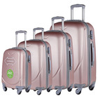 abs travelling luggage factory 4 pcs set