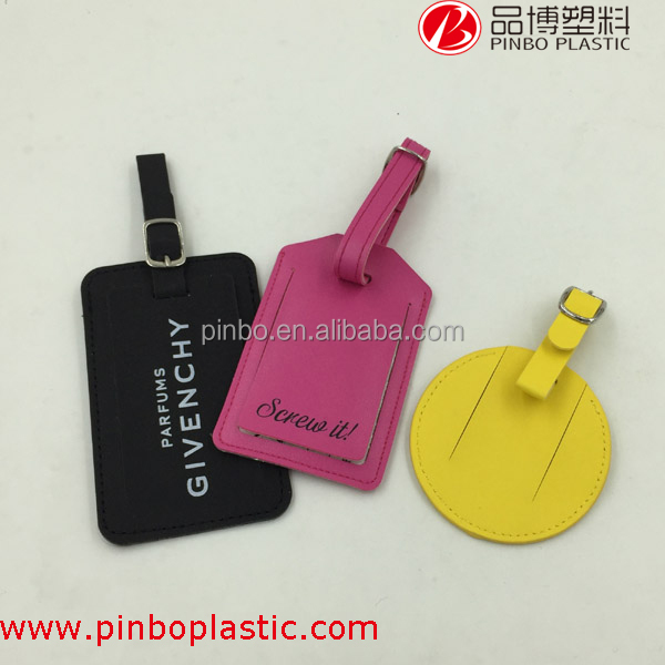 Luggage tag custom logo and design,Promotional cheap hot sale leather luggage tag,luggage tag wholesale
