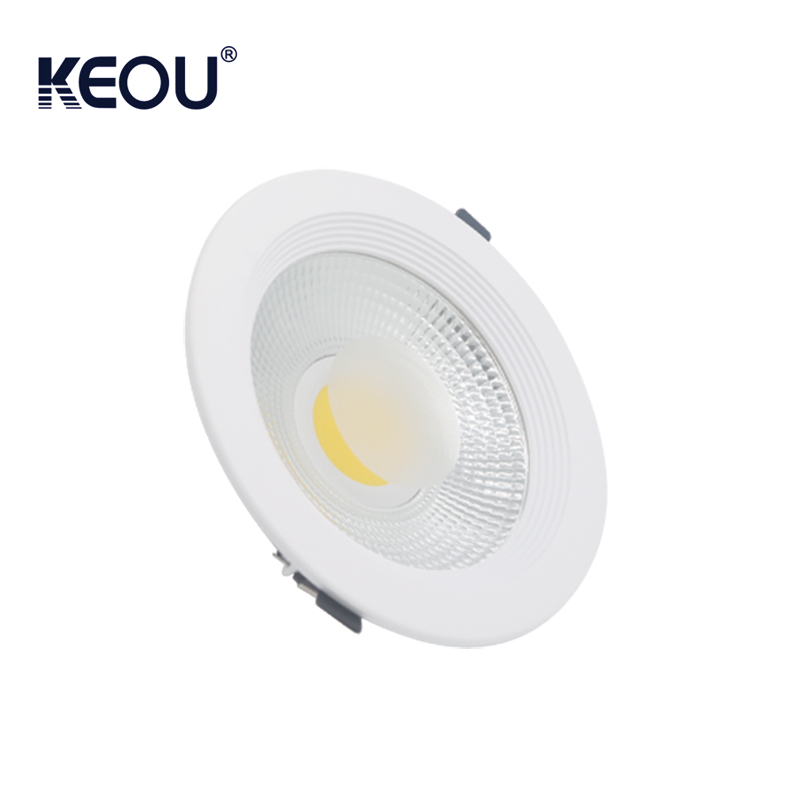 Aluminium 2700k 80lm/w 7w led ceiling COB downlight OEM