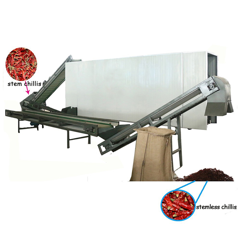 Factory prices chilli stem cutting machine