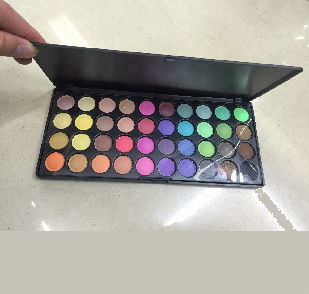 China import direct tools eye shadow makeup private label 40colors pigment eyeshadow makeup