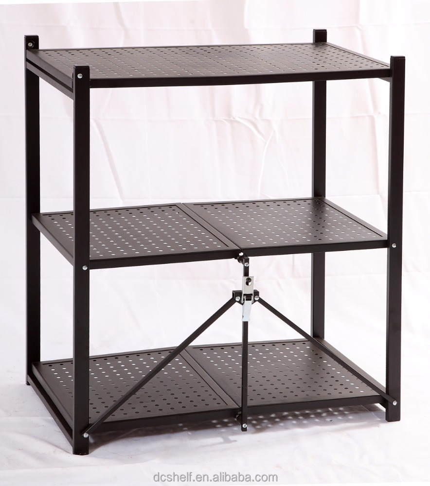 High quantity household home furniture simple metal folding multifunctional <strong>shelf</strong>