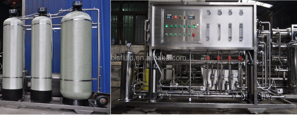 Reverse Osmosis Process Water Treatment System