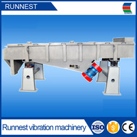 linear vibrating screen oil palm seed sieving sorting