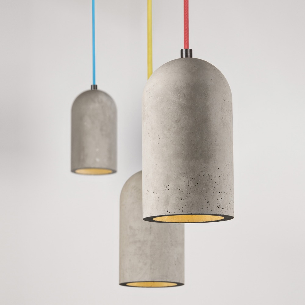 Modern Industrial Style chandelier large pendant lighting E27 Concrete Pendant Lamp for Dining Room Coffee house Living room