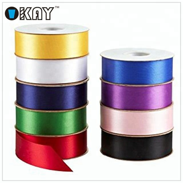 Factory Luxury 196 Colors 1 inch Double Face Satin Ribbon