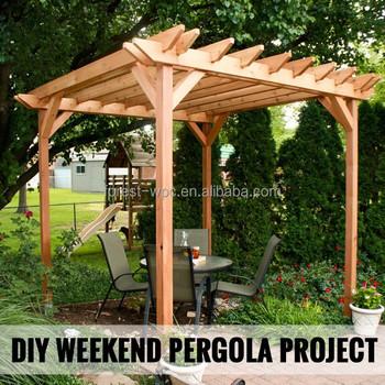 Incroyable Schnitzen Dekorative Wpc Garten Holz Pergola Garten Pergola Metall  Gartenmöbel Pergola Metall