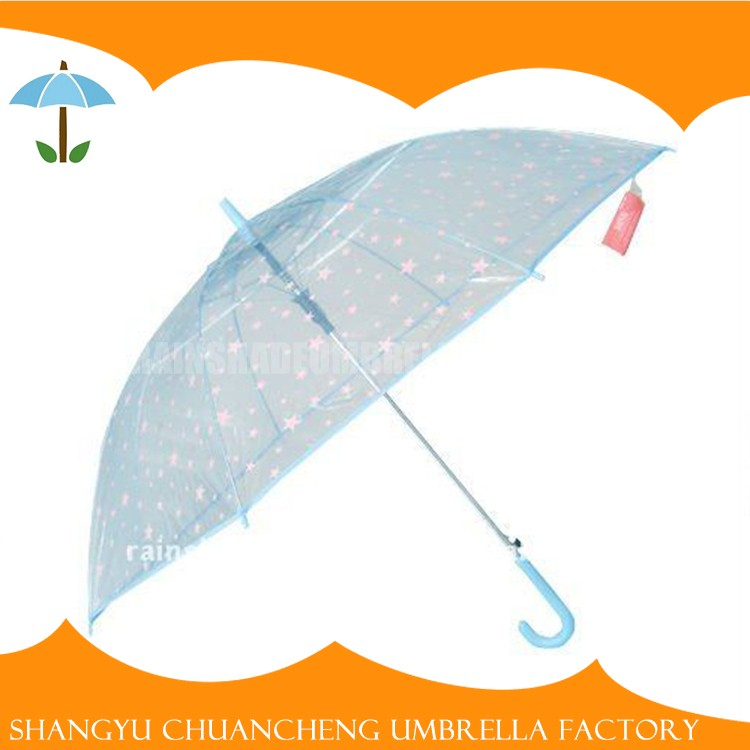 Beautiful Cheap Transparent Umbrella Manufacturer China
