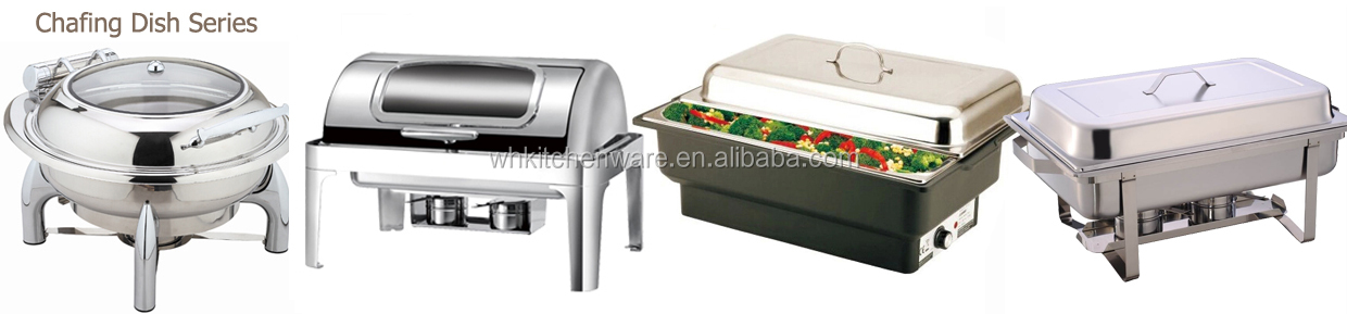 9L hot sale oblong stainless steel buffet chafing dishes