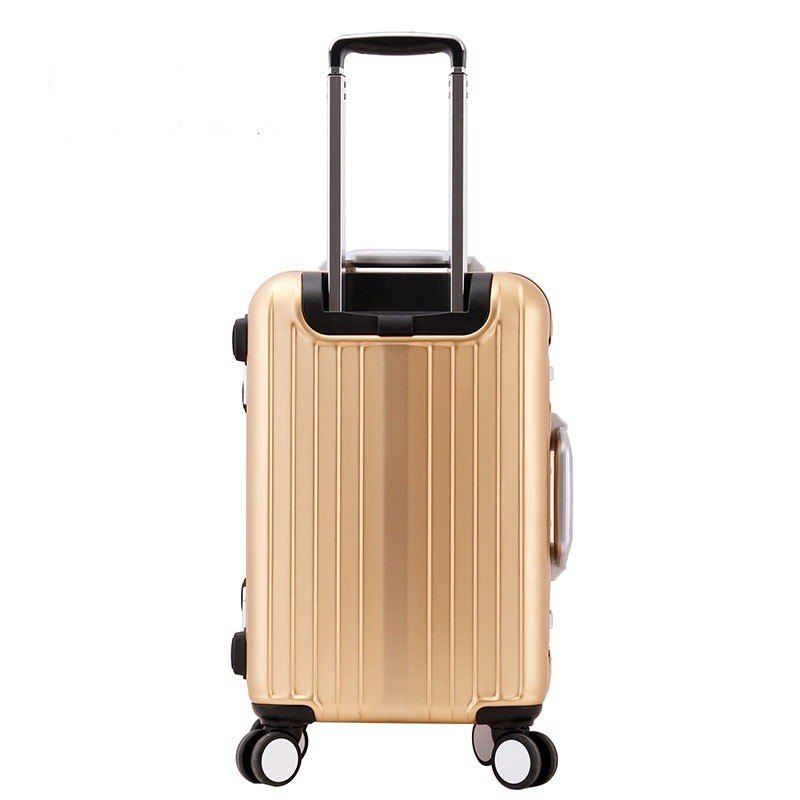 20'' 24'' 28'' luxury carry on cabin metal aluminium trolley luggage in stock