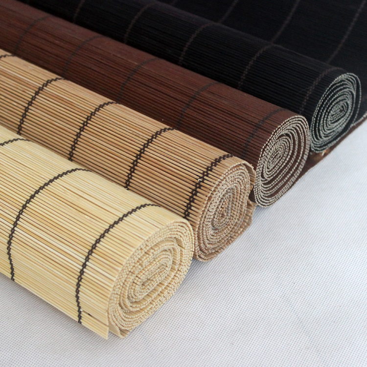 New Design Warm Atmosphere Bamboo Roller Window Shades