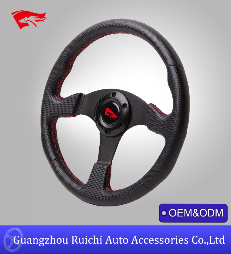 13 inch JDM Aftermarket Performance Racing Carbon Fiber Steering Wheels in China (RC-5128)