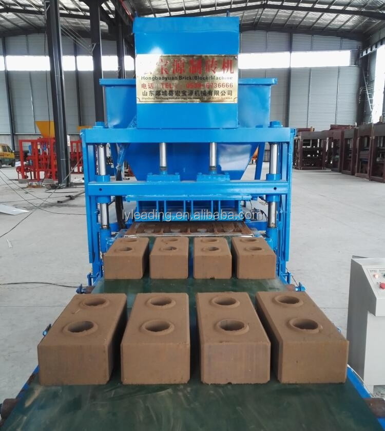 automatic 4-10 hydraform interlocking soil clay issb Interblock block making machine in nigeria