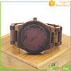 Natural wood mix colors watch the wood full movie quality japan quartz watch wood