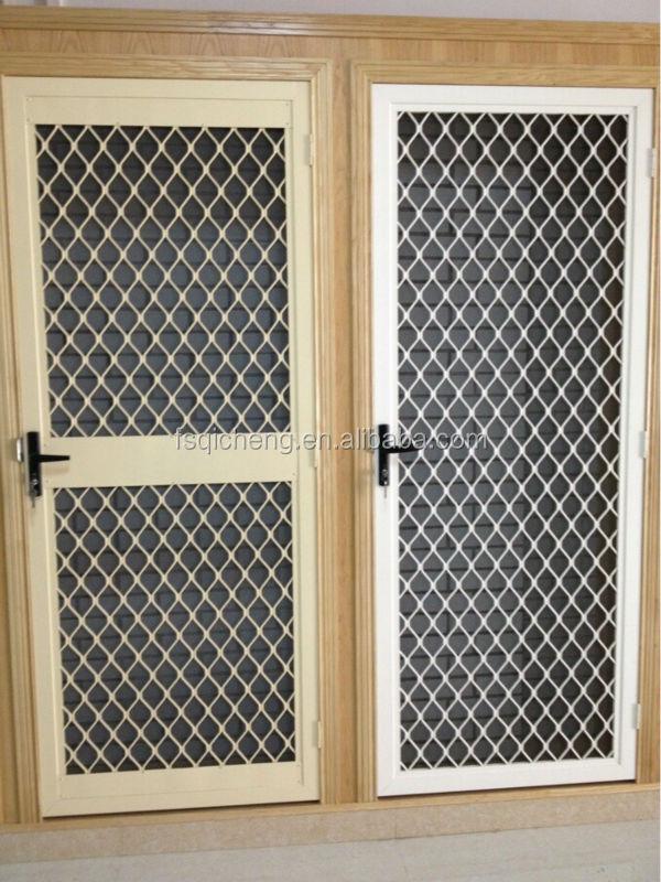 אבטחת שער גריל עיצוב אלומיניום אבזרים אחרים לדלתות